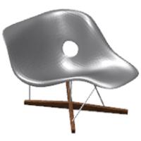Eames la chaise master script for La chaise eames occasion